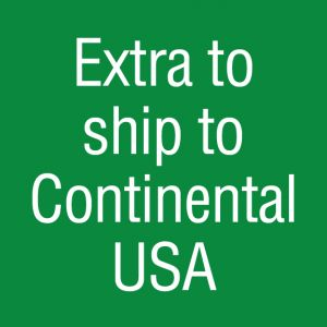 Extra to ship to continental USA