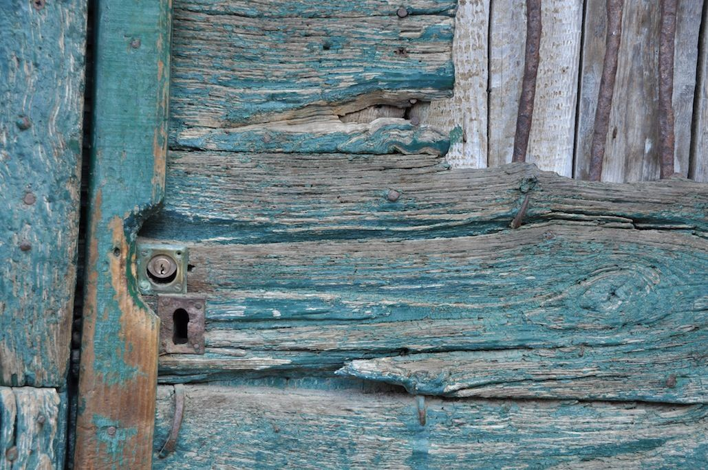 ... Mexico Wooden Turquoise Door ... & Architectural Abstracts | Denise Strahm | Fine Art Photographer