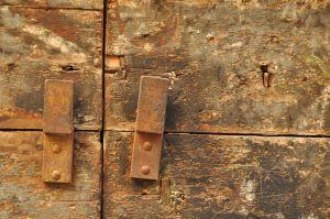 Rusty Door, Florence, Italy
