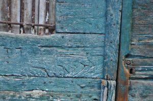 Turquoise Door, Italy