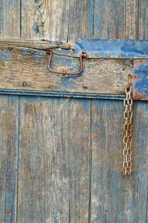 The Blue Door, Vernazza, Italy