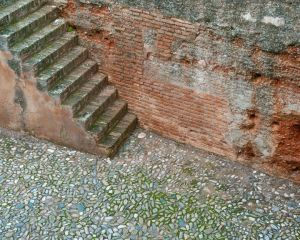 Textural Stairscape, Spain