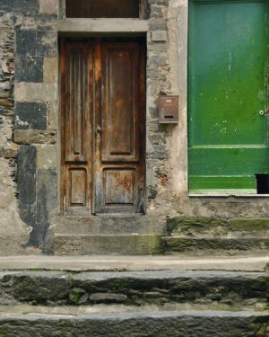 Doorscape, Vernazza, Italy